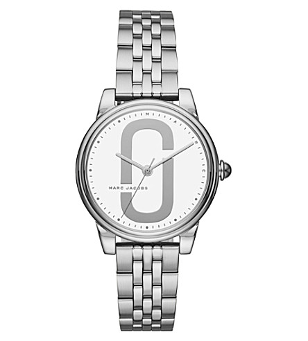 MARC JACOBS MJ3559 Corie stainless steel quartz watch