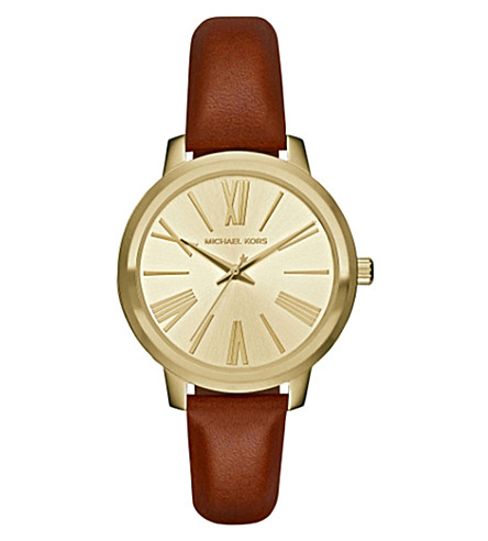 MICHAEL KORS 2521 champagne stainless steel watch (Gold