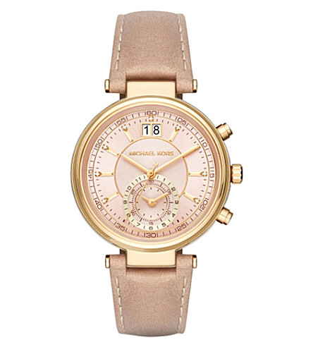 MICHAEL KORS MK2529 gold-plated stainless steel watch (Rose+gold