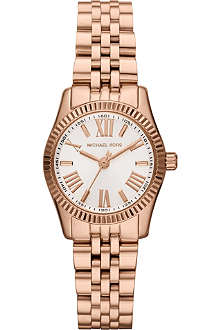 MICHAEL KORS MK3230 Lexington rose gold chronograph watch