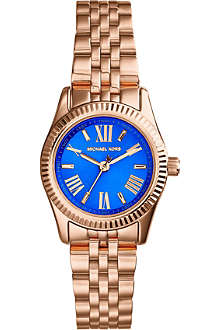MICHAEL KORS MK3272 Mini Lexington gold-plated purple watch