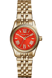 MICHAEL KORS MK3284 Lexington gold-toned stainless steel watch