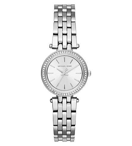 MICHAEL KORS MK3294 petite darci stainless steel watch