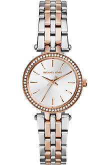 MICHAEL KORS Petit Darci Stainless Steel Watch