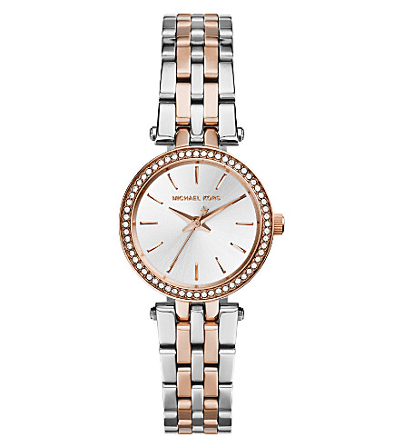 MICHAEL KORS MK3298 Darci stainless steel watch (Silver