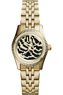 MICHAEL KORS MK3300 Lexington gold-toned stainless steel bracelet watch