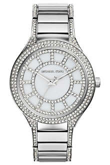 MICHAEL KORS Kerry Pave-Embellished Watch