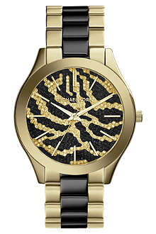 MICHAEL KORS Runway Zebra Watch
