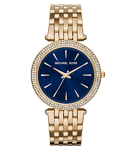 MICHAEL KORS MK3406 Darci stainless steel watch (Blue