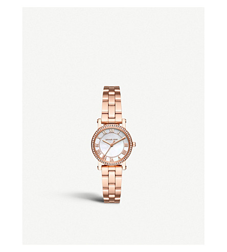MICHAEL KORS MK3558 norie stainless steel watch