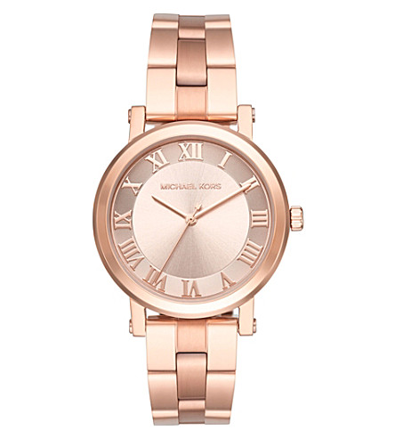 MICHAEL KORS MK3561 norie rose gold-toned stainless steel watch