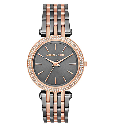 MICHAEL KORS MK3584 Darci stainless steel watch
