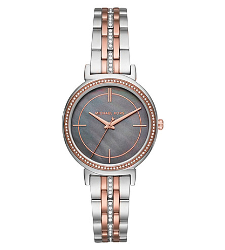 MICHAEL KORS MK3642 Cinthia stainless steel watch