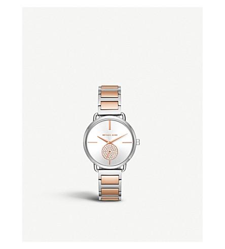 MICHAEL KORS MK3709 Portia stainless steel watch