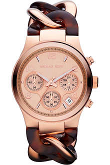MICHAEL KORS MK4269 rose-gold chronograph watch