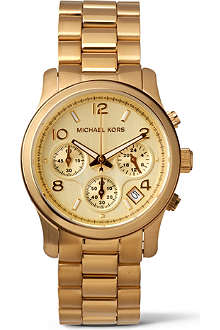MICHAEL KORS MK5055 gold-plated chronograph watch