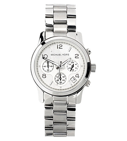 MICHAEL KORS MK5076 Runway stainless steel watch (Silver