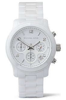 MICHAEL KORS MK5161 ceramic chronograph watch