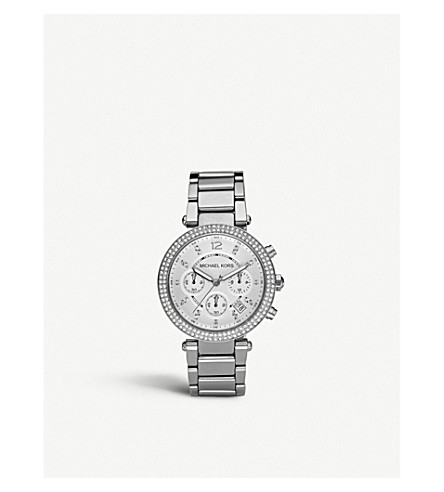 MICHAEL KORS MK5353 Parker stainless steel watch (Silver
