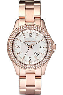 MICHAEL KORS MK5403 rose gold-toned watch