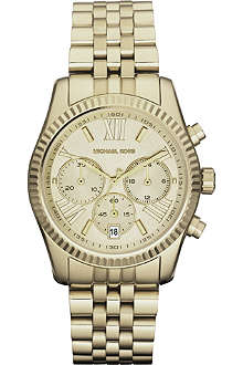 MICHAEL KORS MK5556 gold-plated chronograph watch