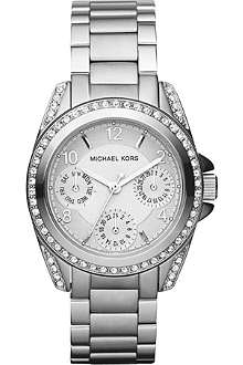 MICHAEL KORS MK5612 Blair mini silver-toned stainless steel watch