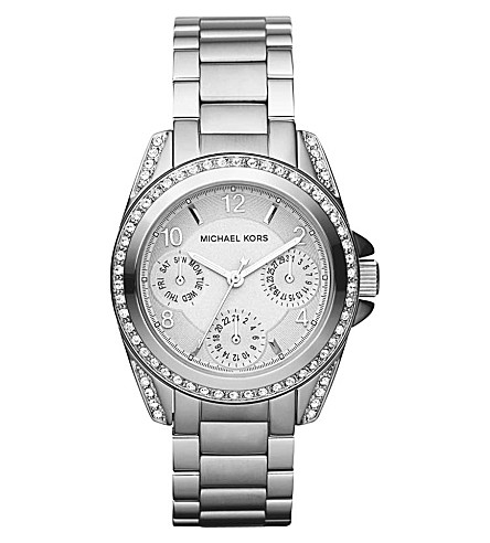 MICHAEL KORS MK5612 Blair mini silver-toned stainless steel watch (Silver