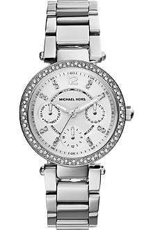 MICHAEL KORS MK5615 Parker silver-toned stainless steel watch