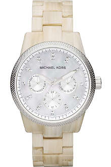 MICHAEL KORS MK5625 Safari resin chronograph watch