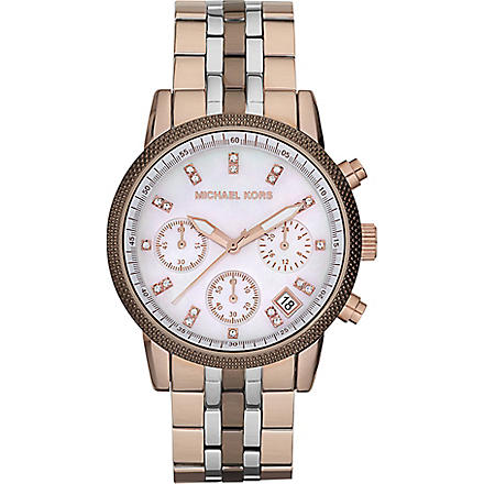 MICHAEL KORS MK5642 Ritz stainless-steel chronograph watch