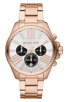 MICHAEL KORS MK5712 Wren rose gold chronograph watch