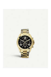 MICHAEL KORS MK5739 Bradshaw gold-plated chronography watch