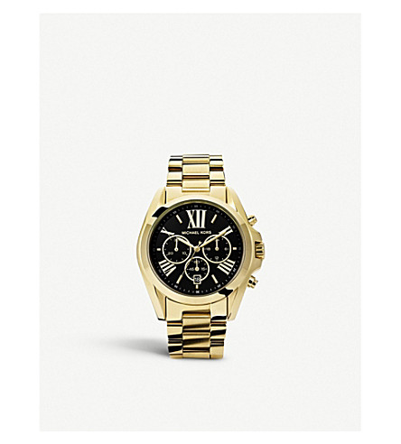 MICHAEL KORS MK5739 Bradshaw gold-plated watch (Gold