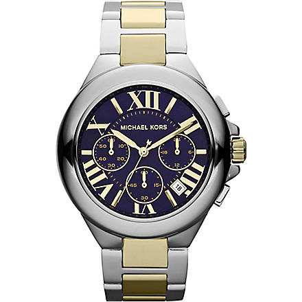 MICHAEL KORS MK5758 stainless steel chronograph watch (Blue