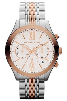 MICHAEL KORS MK5763 stainless steel chronograph watch