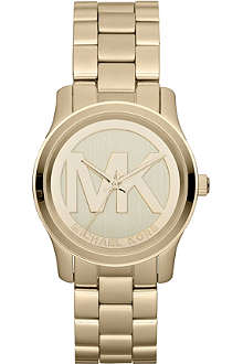 MICHAEL KORS MK5786 Runway gold-plated watch