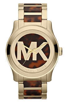 MICHAEL KORS MK5788 Runway gold-plated watch