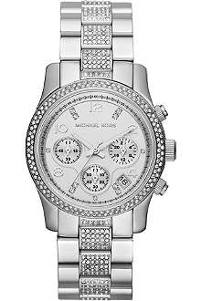 MICHAEL KORS MK5825 Runway stainless steel chronograph watch