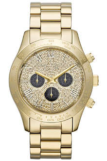 MICHAEL KORS MK5830 Layton gold-plated chronograph watch