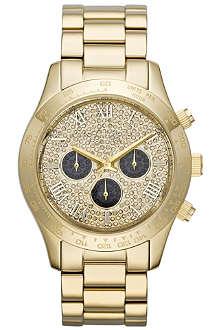 MICHAEL KORS MK5830 Layton gold-plated chronograph watch
