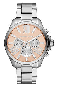 MICHAEL KORS MK5837 stainless steel chronograph watch