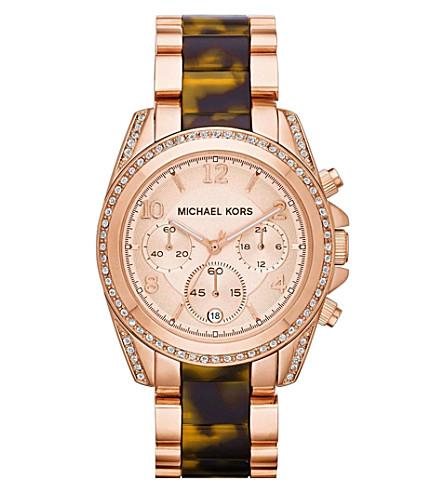 MICHAEL KORS MK5859 Blair stainless steel watch (Rose+gold