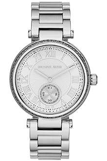 MICHAEL KORS Skylar ladies silver stainless steel watch