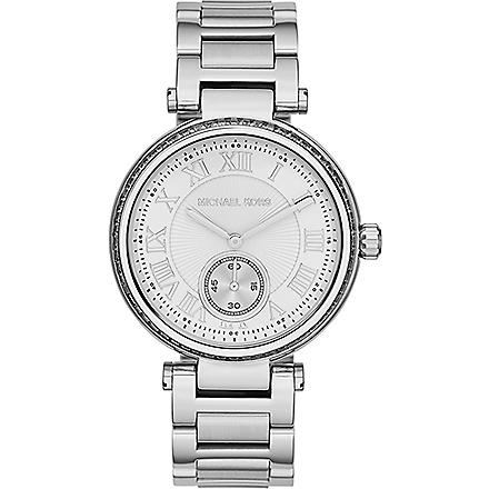 MICHAEL KORS Skylar ladies silver stainless steel watch (Silver
