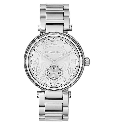MICHAEL KORS MK5866 Skylar silver-tone stainless steel watch (Silver