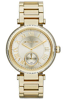MICHAEL KORS Skylar ladies gold stainless steel watch