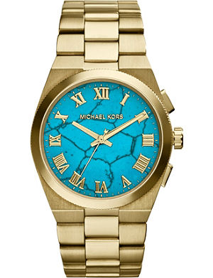 MICHAEL KORS MK5894 Channing gold-tone stainless steel watch