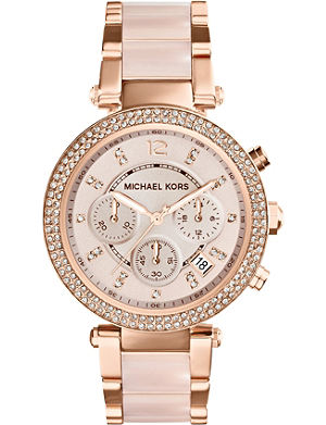 MICHAEL KORS MK5896 Parker rose gold-tone watch