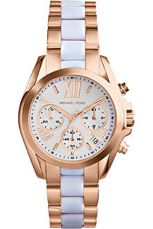 MICHAEL KORS MK5907 Mini Bradshaw two-tone watch