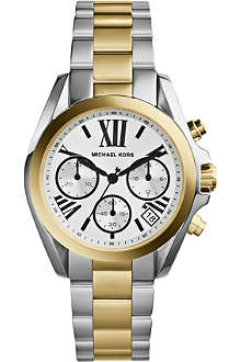 MICHAEL KORS MK5912 Mini Bradshaw two-tone watch